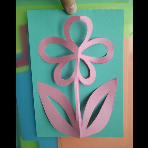 Kirigami Flower How To Make A Cut Out Card Papercraft Cardmaking And Scrapbooking On Cut