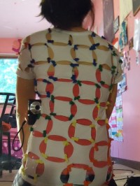 Rainbow Shirt  How To Make A Revamped T Shirt  No-Sew on ...