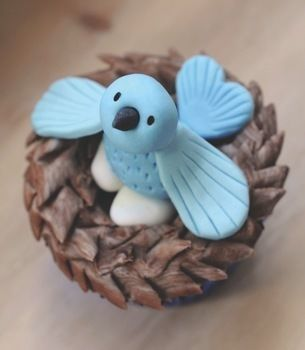 Completed Project: Bird's Nest Cupcakes Picture #1