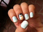 penguin nails animal nail