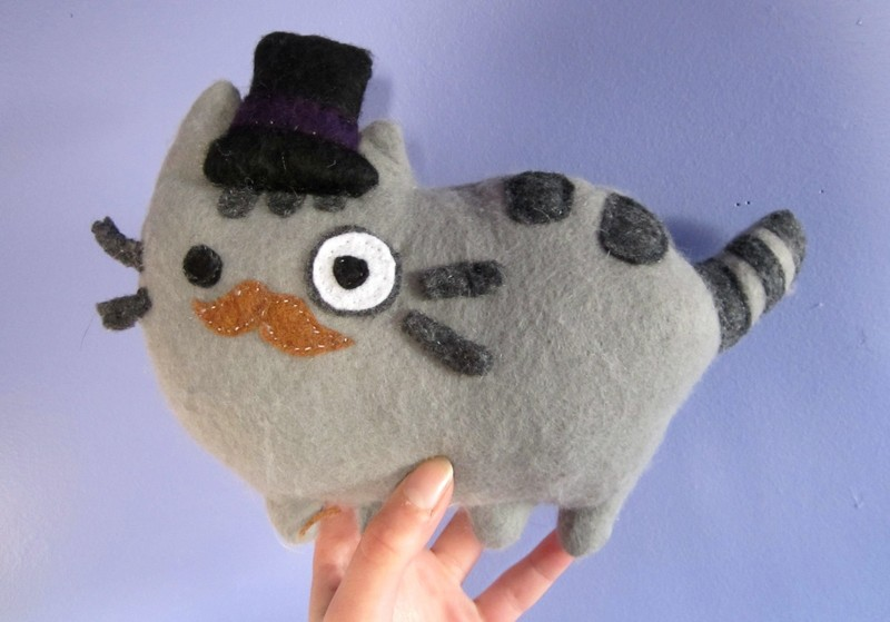 Pusheen Plushie  How To Make A Cat Plushie  Sewing on