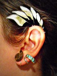 Earring That Hooks Behind The Ear  A Cuff Earring ...