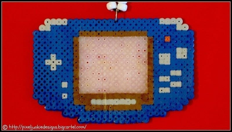 Awesome Perler Bead Creations  A Pair Of Pegboard Bead Earrings  Art Photography and