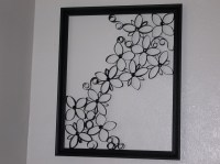 Faux Wrought Iron Wall Art For Under $5  How To Make A ...