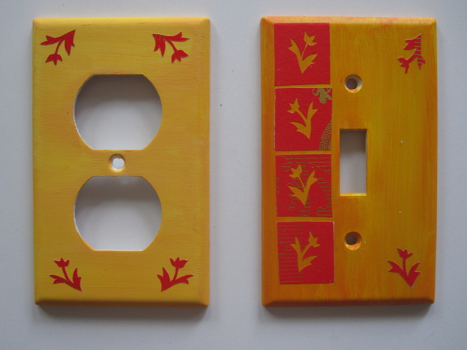 Diy Light Switch Covers  How To Make A Light Switch  Art