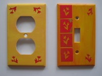 Diy Light Switch Covers  How To Make A Light Switch  Art ...