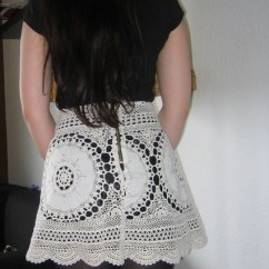 Carpet For Living Room Ideas Images Lace Skirt Out Of Granny´s Tablecloth · How To Recycle A ...