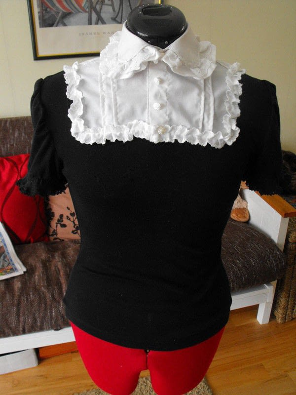 Lolita Cutsew  How To Make A Blouse  Sewing on Cut Out