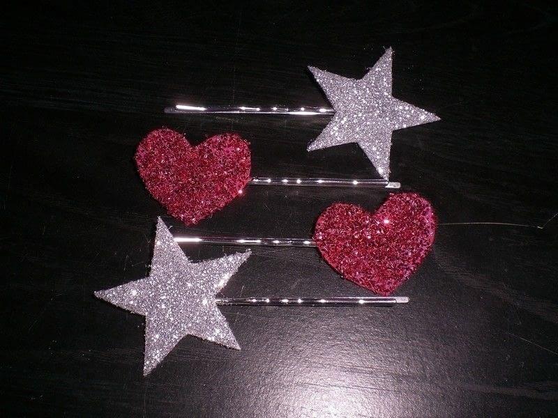 Glitter Hair Pins  How To Make A Pin  Slide