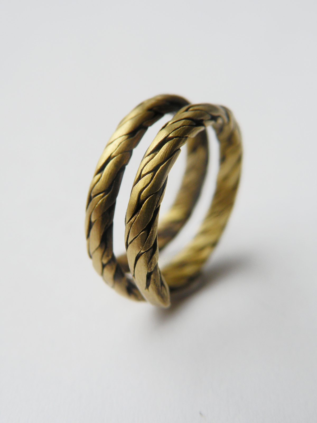 Braided Ring A Braided Ring Braiding Metalwork And Wirework On Cut Out Keep