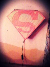 Superman Lamp  How To Make A Decorative Light  Woodwork ...