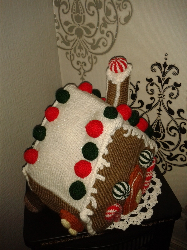 Knit Gingerbread House 183 A Gingerbread Man Plushie