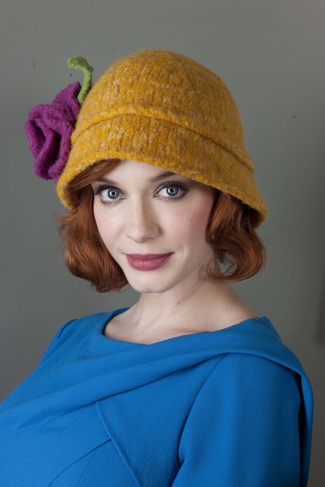 Cloche Hat Extract From Heart Felt Knits By Tamara Mello
