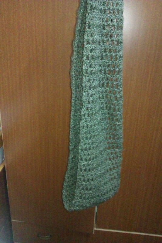 Crocheted Infinity Scarf Very Easy How To Make A Knit