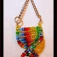 Dna Earrings  How To Make A Dangle Earring  Beadwork and ...