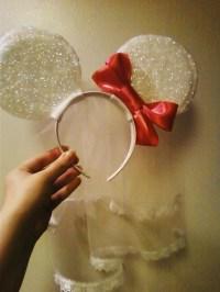 Diy Mickey/Minnie Ears  How To Make An Ear / Horn ...
