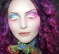 Mrs.Hatter Makeup With Video Tutorial  How To Create A ...
