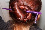 chop sticks hair