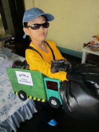 Garbage Truck Costume  A Weapon  Art and Papercraft on ...
