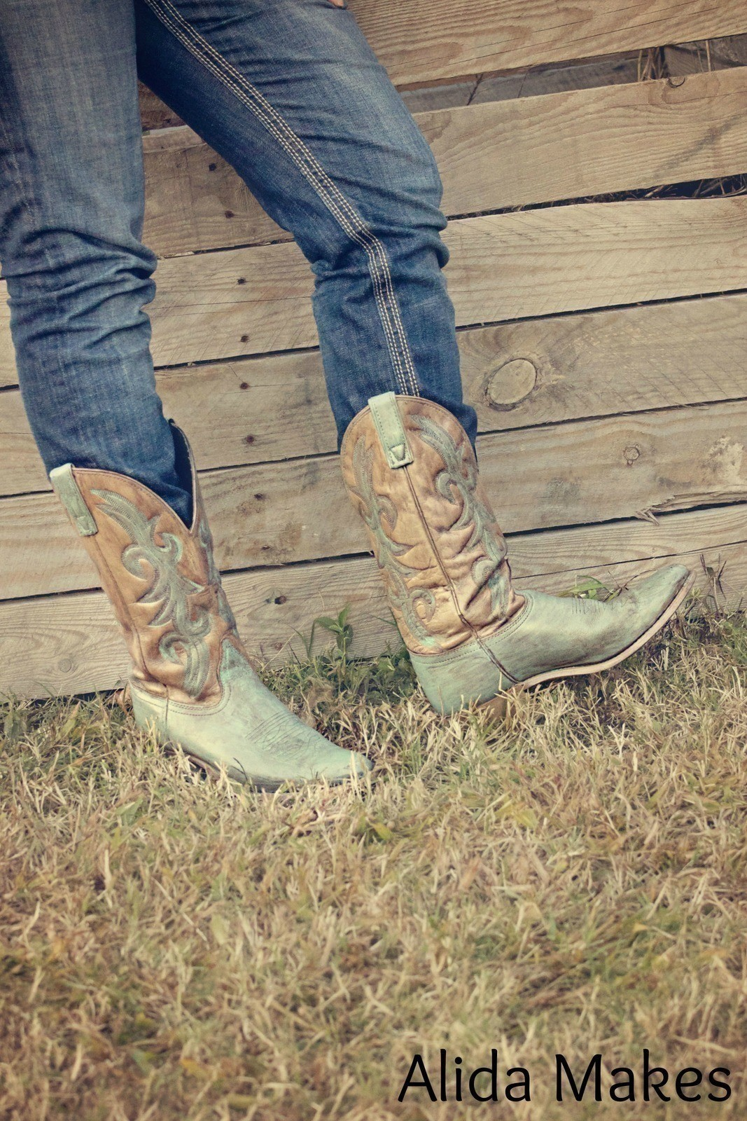 Diy Turquoise Cowboy Boots  How To Make A Pair Of Cowboy
