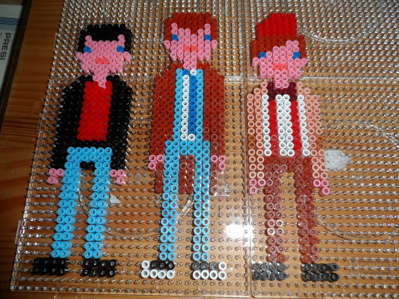11th Doctor In Hama Beads How To Make A Beaded Character Other On Cut Out Keep
