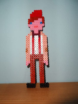 11th Doctor In Hama Beads How To Make A Beaded Character