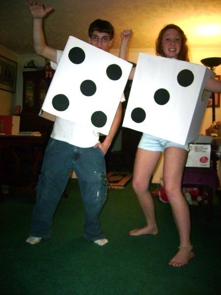 Pair Of Dice Costume  How To Make A Full Costume