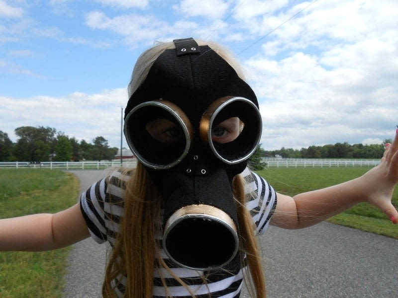 Empty Child Gas Mask How To Make A Mask Other On Cut