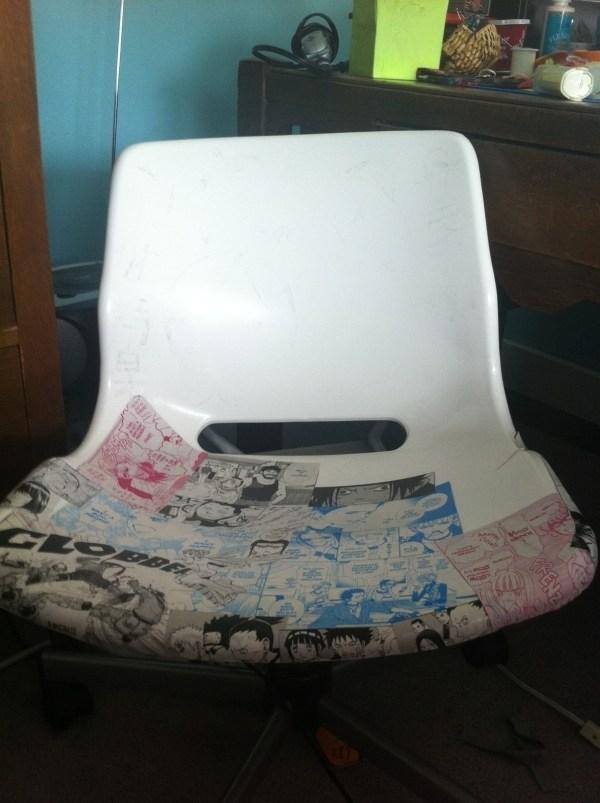 Collage Chair Home Diy Cut