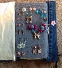 Earring Book  A Jewelry Pouch  Home + DIY on Cut Out ...