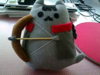 Katniss Pusheen  How To Make A Cat Plushie  Sewing on ...
