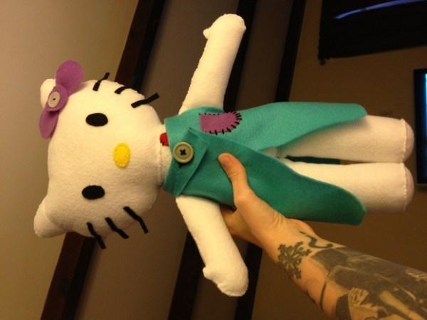 Kitty Felt Doll Make Cat Plushie Sewing