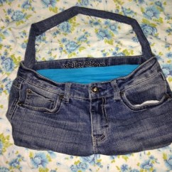 How To Make A Bean Bag Chair Out Of Old Clothes Verner Panton S Replica Turn Denim Jeans Into  Sew