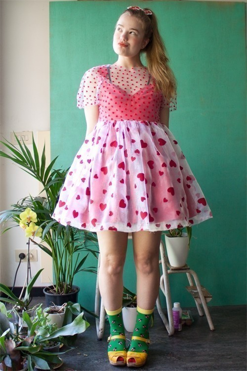 Easy Poofy Dress · How To Sew A Babydoll Dress · Sewing on