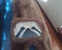 Sloth Scarf  An Animal Scarf  Art, Decorating, and ...