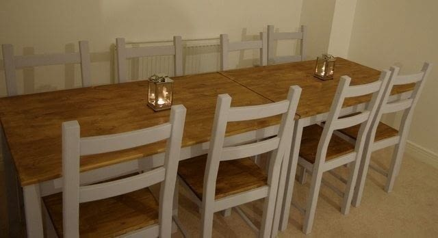 Farmhouse Table From Cheap Ikea Ingo A Table Home