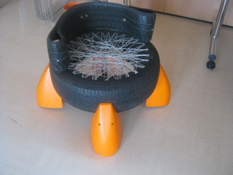 Upcycled Tyres A Seat Home DIY On Cut Out Keep