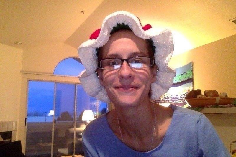 Crochet Mrs Claus Hat  A Novelty Hat  Needlework on Cut