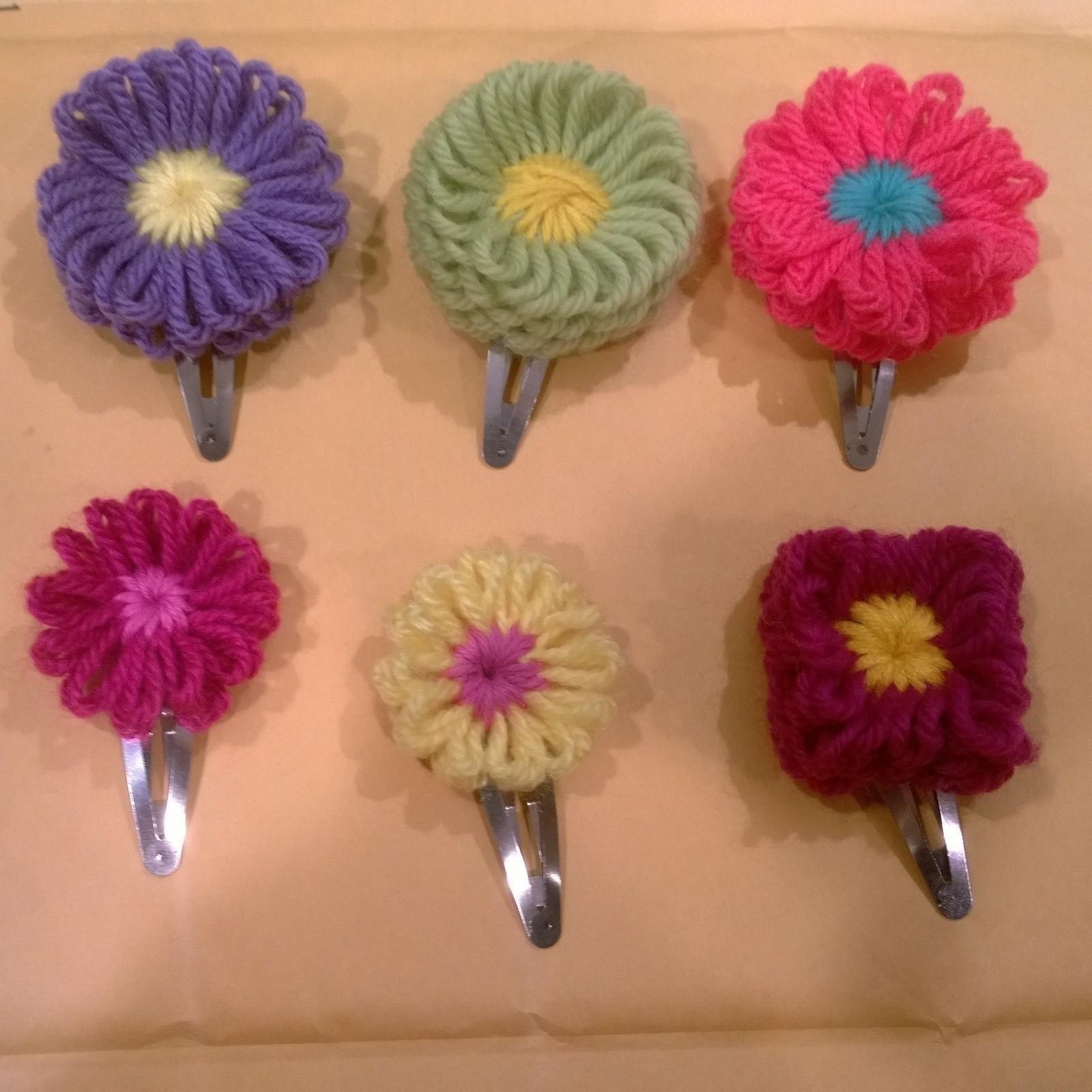 Hana Ami Flower Barrettes How To Make A Flower Hair Clip