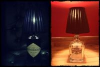 Booze Bottle Lamp  How To Make A Bottle Lamp  Home + DIY ...