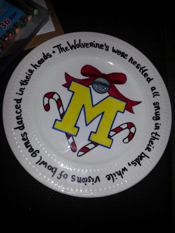 Diy Sharpie Dishes Make Plate Decorating