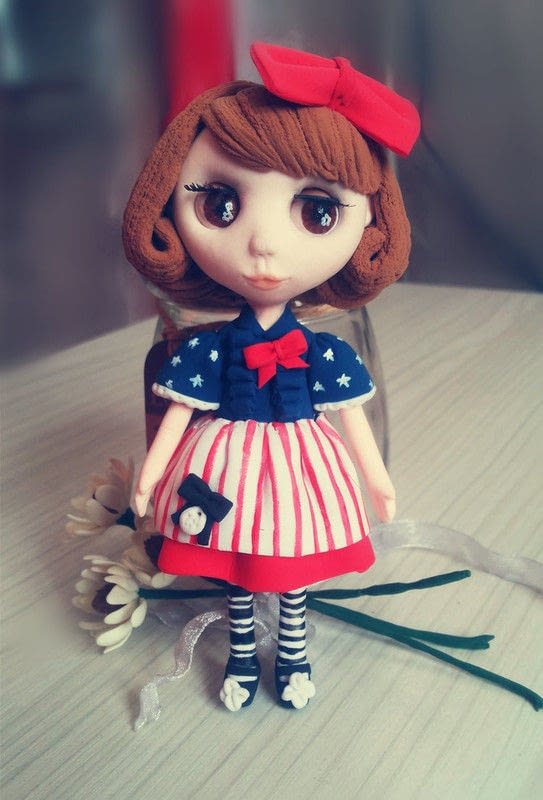 Handmade Clay Doll  How To Mold A Clay Character  Home