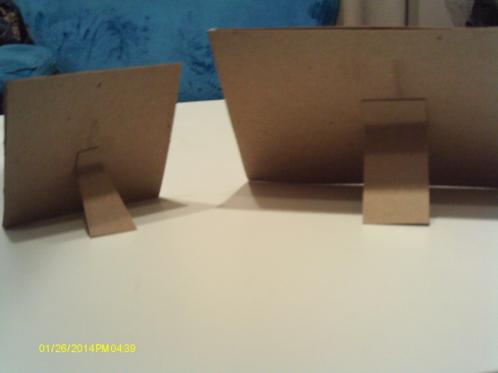 Diy Cardboard Picture Frames  A Photo Holder  Home  DIY on Cut Out  Keep