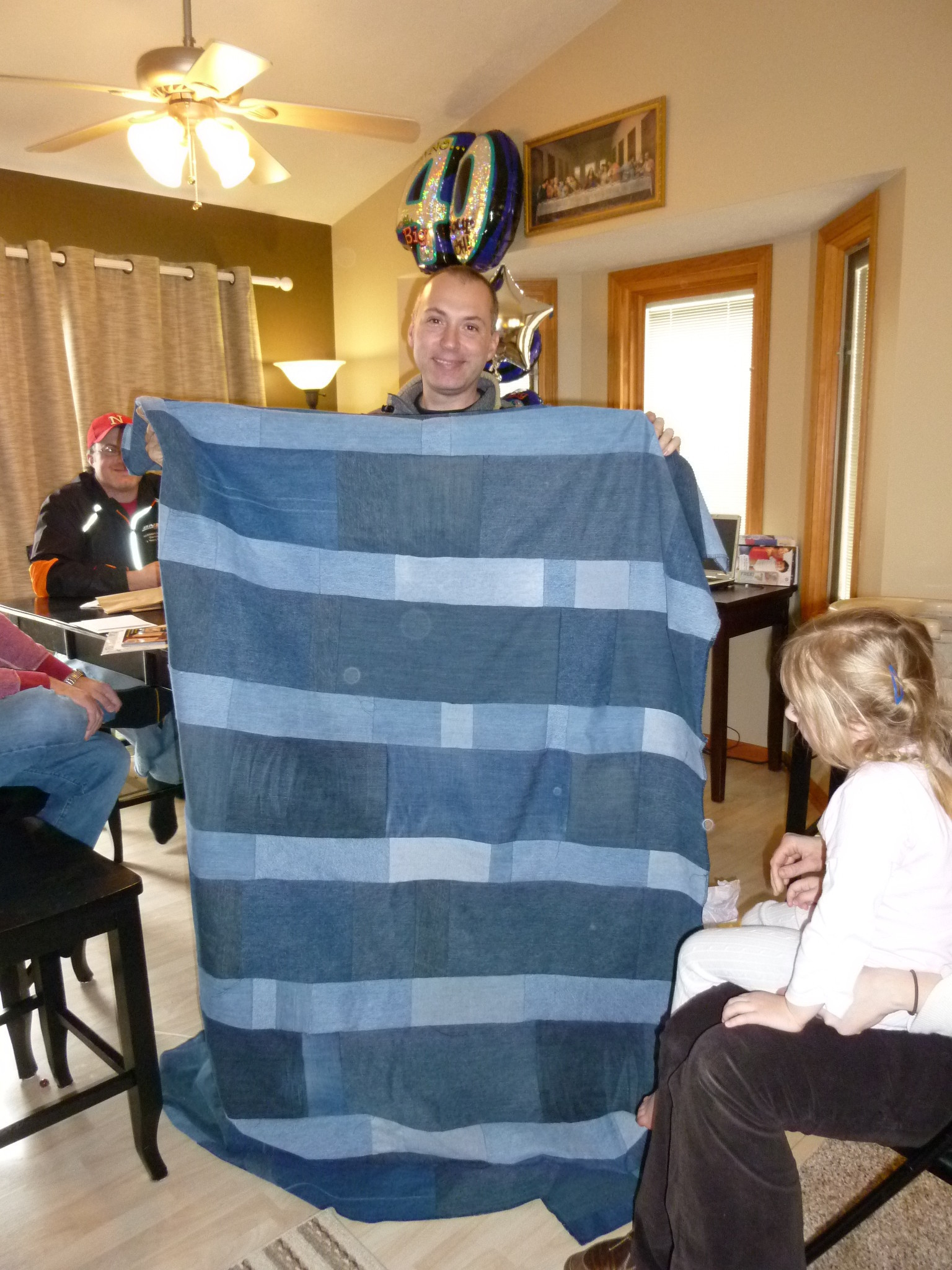Denim Blanket A Simple Serger Project How To Make A