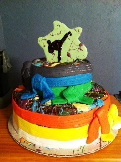 Paintball Meets Karate Birthday 183 A Novelty Cake 183 Recipes
