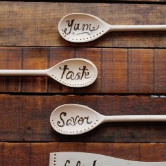 Cheap Kitchen Utensils Brass Faucets Wood Burning Spoons · How To Make A Spoon ...