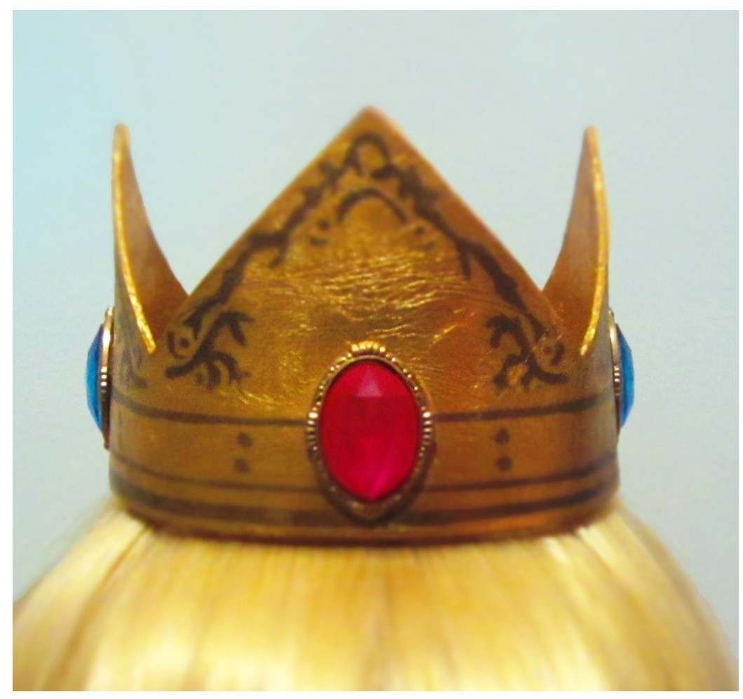 Princess Peach Crown  How To Make A Tiara  Crown  Decorating on Cut Out  Keep