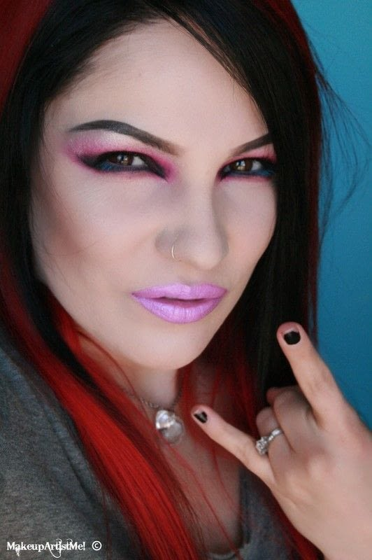 Rock Chick Makeup Tutorial  How To Create A Red Eye