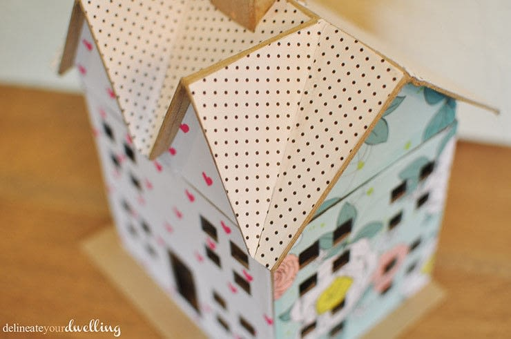Scrapbook Paper Doll House  How To Make A Dolls House