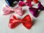 satin ribbon hair bow